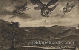 kra000231 - Hindhead, the devil's jump Devil, Krampus Postcard Postcards