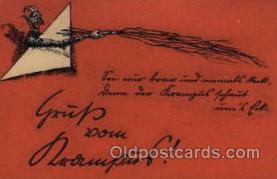 kra000257 - Krampus, Devil, Postcards Post Card