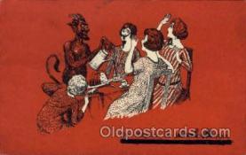 kra000263 - Krampus, Devil, Postcards Post Card