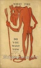kra000281 - Krampus Old Vintage Antique Post Card Postcards