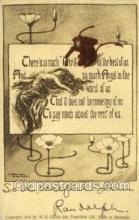 kra000283 - Krampus Old Vintage Antique Post Card Postcards
