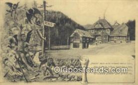 kra000291 - Krampus Postcard Post Card Old Vintage Antique