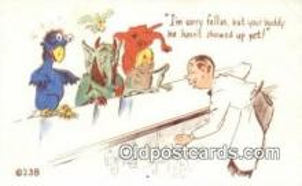kra000312 - Krampus Your Buddy hasn't showed up yet Postcard Post Card, Carte Postale, Cartolina Postale, Tarjets Postal,  Old Vintage Antique