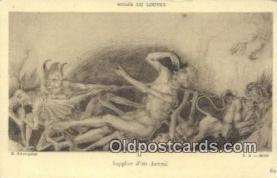 kra000314 - Krampus Musee Du Louvre Postcard Post Card, Carte Postale, Cartolina Postale, Tarjets Postal,  Old Vintage Antique