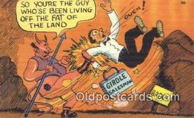 kra000327 - Krampus  Postcard Post Card, Carte Postale, Cartolina Postale, Tarjets Postal,  Old Vintage Antique