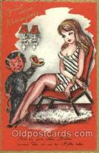 kra100047 - Krampus, Devil, Postcard Postcards