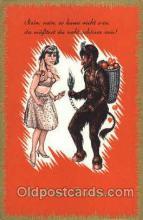 kra100055 - Krampus, Devil, Postcard Postcards