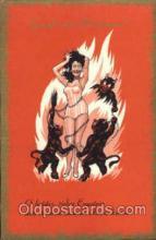 kra100057 - Krampus, Devil, Postcard Postcards