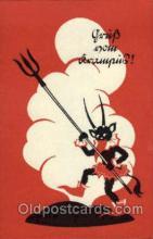 kra100083 - Krampus, Devil, Postcard Postcards