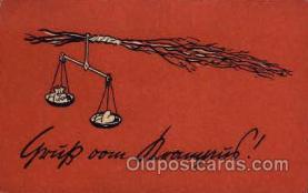kra100094 - Krampus, Devil, Postcard Postcards