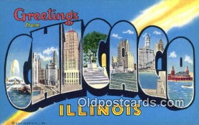 Chicago, Illinois, USA Postcard Post Card