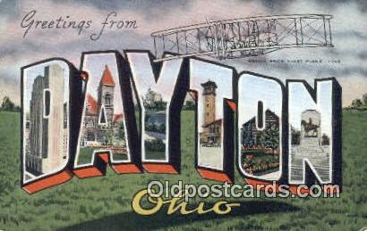 Dayton, Ohio, USA Postcard Post Card