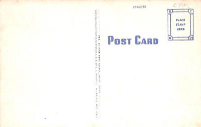 LLM100047 - Large Letter Militay Post Card Old Vintage Antique Postcard  back