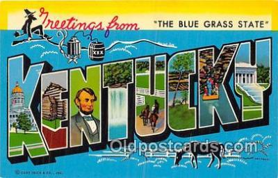 LLS100002 - Kentucky, USA Postcard Post Cards