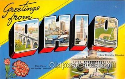 LLS100005 - Ohio, USA Postcard Post Cards