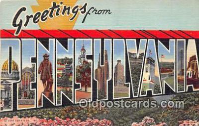 LLS100025 - Pennsylvania, USA Postcard Post Cards