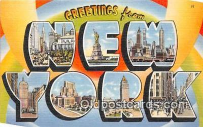 LLS100035 - New York, USA Postcard Post Cards