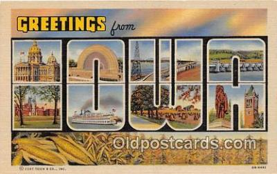 LLS100039 - Iowa, USA Postcard Post Cards