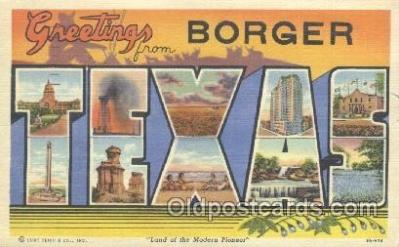 Borger, Texas, USA