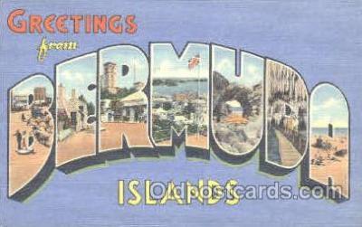 LLT001122 - Bermuda, Islands Large Letter Town Postcard Postcards