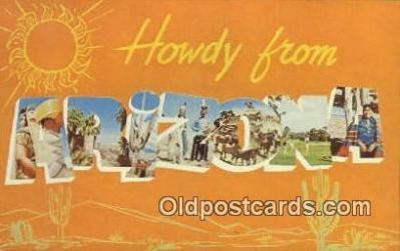 Arizona, USA Postcard Post Card