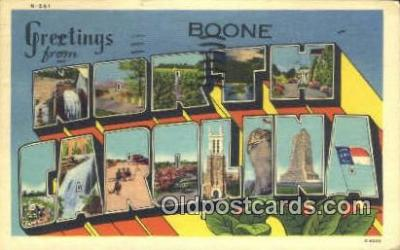 Boone, North Carolina, USA Postcard Post Card