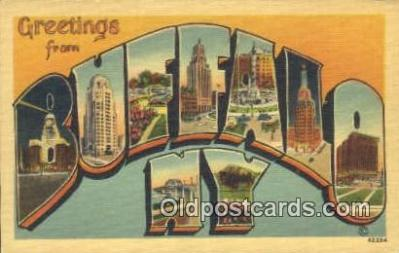 Buffalo, New York, USA Postcard Post Card