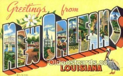 New Orleans, Louisiana, USA Postcard Post Card