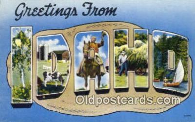 Idaho, USA Postcard Post Card