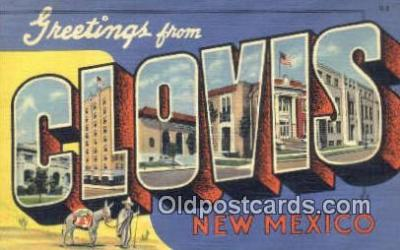 Clovis, New Mexico, USA Postcard Post Card