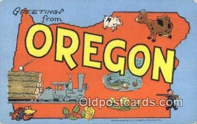 Oregon, USA Postcard Post Card