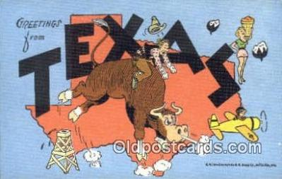 Texas, USA Postcard Post Card