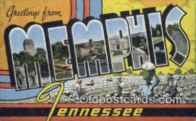 Memphis, Tennessee, USA Postcard Post Card