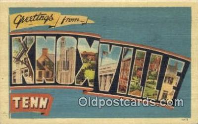 Knoxville, Tennessee, USA Postcard Post Card