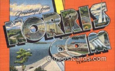 Norris Dam, Tennessee, USA Postcard Post Card