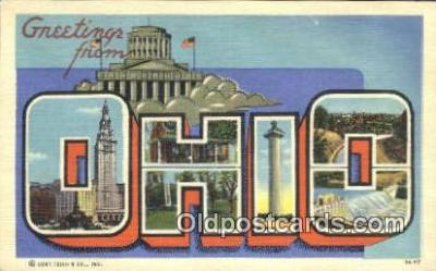 Ohio, USA Postcard Post Card