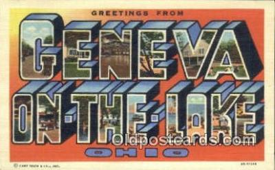 Geneva on the Lake, Ohio, USA Postcard Post Card