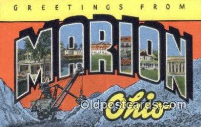 Marion, Ohio, USA Postcard Post Card