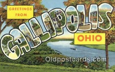 Callipolis, Ohio, USA Postcard Post Card