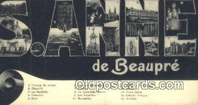 LLT201673 - S Anne USA Large Letter Town Vintage Postcard Old Post Card Antique Postales, Cartes, Kartpostal
