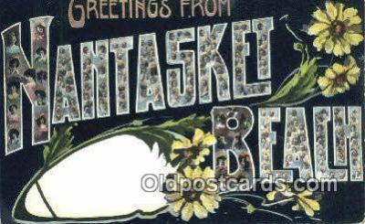 LLT201770 - Nantasket Beach, Mass USA Large Letter Town Vintage Postcard Old Post Card Antique Postales, Cartes, Kartpostal