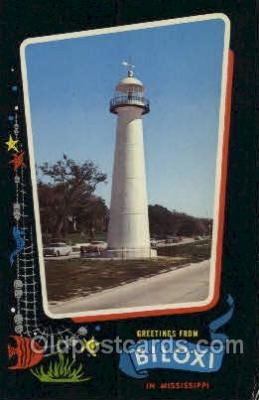 lgh100003 - Biloxi, Miss Maine USA Postcards Postcards