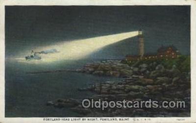 lgh100058 - Portland Headlight Maine USA Postcards Postcards