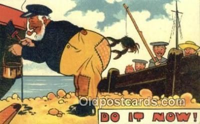 lob001017 - Do it now!  Postcard Post Card, Carte Postale, Cartolina Postale, Tarjets Postal,  Old Vintage Antique