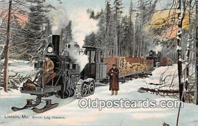Steam Log Haulers