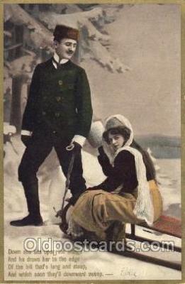 lov001002 - Couples, Lover, Lovers, Postcard, Postcards