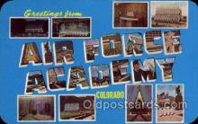 LLM001001 - Air Force Academy, Colorado Large Letter Military Post Card Postcards