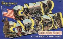 LLM001003 - Camp Carson, Colorado Large Letter Military Post Card Postcards
