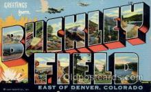 LLM001010 - Buckley Field, Denver, Colorado Large Letter Military Post Card Postcards
