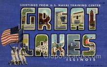 U.S. Naval Training, Great Lakes, Ill USA